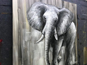 Buy Paintings Online Handcraft by Artists Little Elephant Unframed Wall Art