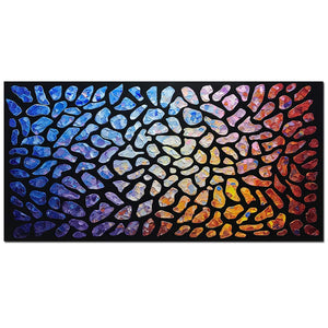 Canvas Painting Online Abstract Clearly Texture Thick Oil Wall Art