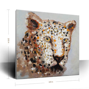 Buy Artwork Online Leopard Canvas Acrylic 3D Painting Decor Living Room