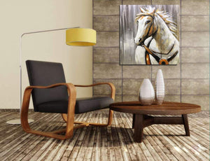 Artwork Online 100% Handmade Horse Square Unframed Canvas Paintings