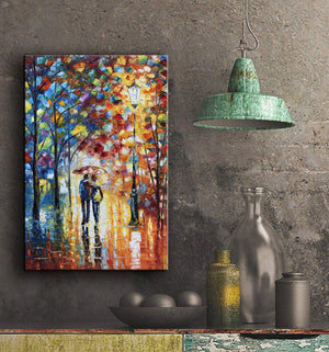 Affordable Art Original Unframed Palette Painting Decor Wall Upgrade Life Taste