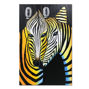 Paintings for Home Decor Romance Zebra Lovers Kiss Perfect Gift to Partners