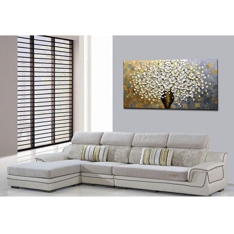 Canvas Wall Art 100 Hand Painted Horizontal Oil Paintings Decor Bedroom