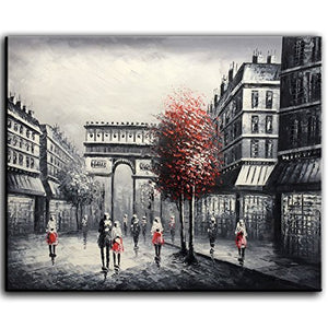 Home Decor Artwork Triumphal Arch Landscape Original Canvas Wall Art Decor Wall