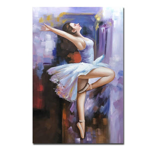 Cheap Artwork for Walls Beautiful Girl Dances Perfect for Living Room