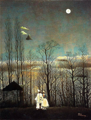 Post Impressionism Unique Artwork Henri Rousseau A Carnival Evening