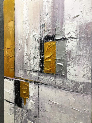 Unique Paintings on Canvas Vertical Clearly Textured Granular Sensation Background