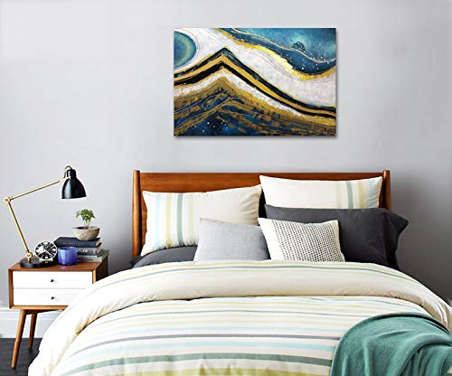 Decorative Canvas Painting Unframed Abstract Decor Bedroom
