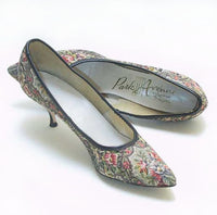Tapestry Kitten Heels - Unique Boutique NYC  - 1