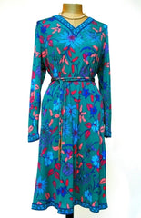 Averado Bessi Vintage Dress in Silk Jersey