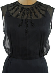 Beaded Illusion Blouson