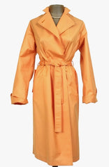 Christian Dior Vintage Coat in Orange Sherbert
