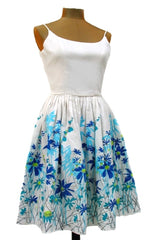 Wild Flower Border Dress