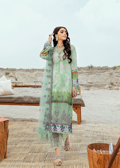Lawn Digital Print Suit Design 03