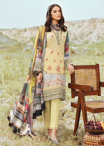 Lawn Digital Print Suit Design 06