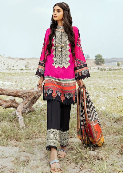 Lawn Digital Print Suit Design 07