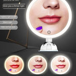 10x Magnifying Touch Screen Makeup Mirror without Gooseneck Hose