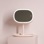 Cosmetic Two Side Makeup Mirror & Desk Lamp - 2 in 1