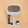 Cosmetic Two Side Makeup Mirror & Desk Lamp 2 in 1