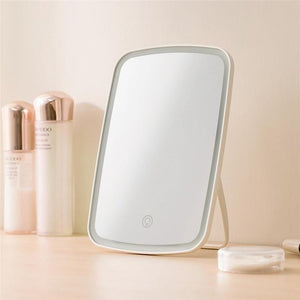 Intelligent Portable Folding LED Light Desktop Makeup Mirror
