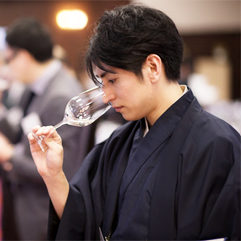 Young Sake Talent, Mr. Naoya Namisato