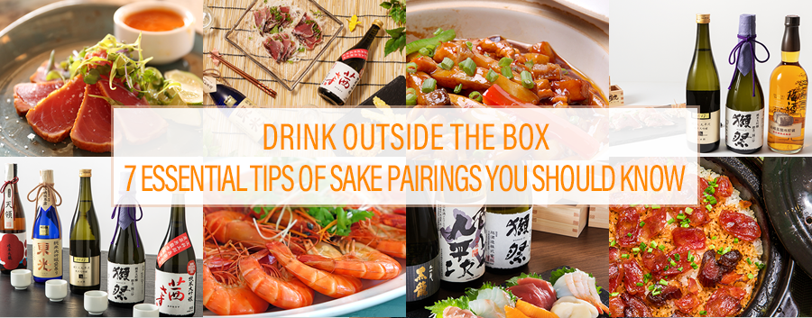 Drink Outside the Box 7 Essential Tips of Sake Pairings You Should Know