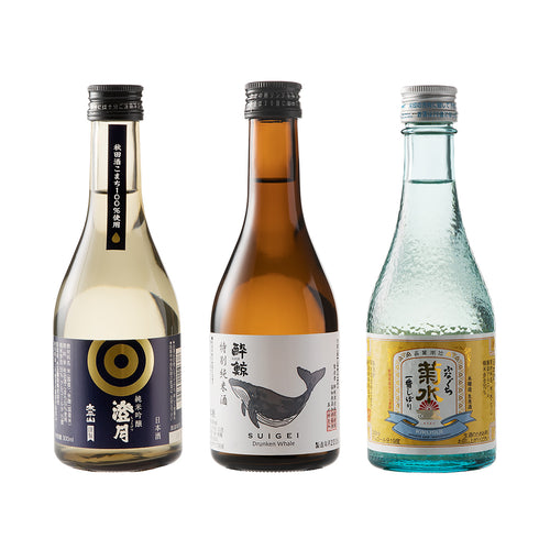 【In Stock】【Free Delivery】Mini Set by Sake Types  *Coupon excluded