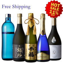 【Free Delivery】Sake for Desserts Set