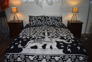 Tree Of Life Queen Size Doona Cover Set