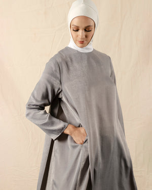 Sorehna Back-Pleated Tunic