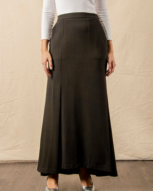 Ermora Pleated Mermaid Skirt