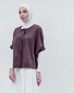 BLANC - Bronze Cape Top