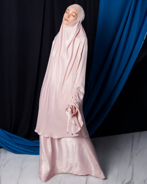 Telekung ARJANA Glory in Rose Gold