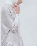 BLANC - Layered Linen Blouse