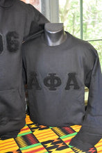 "Load image into Gallery viewer, ""Dark Black"" Hoodie A-Phi"