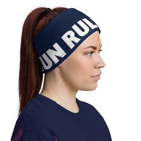Athletic Neck Gaiter in Navy