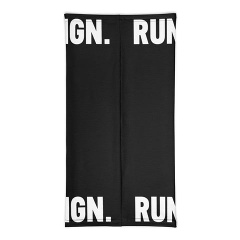 Athletic Neck Gaiter in Black