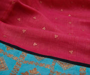 Pink Bailu Sequence with Banarasi and Kanchi Silk Border