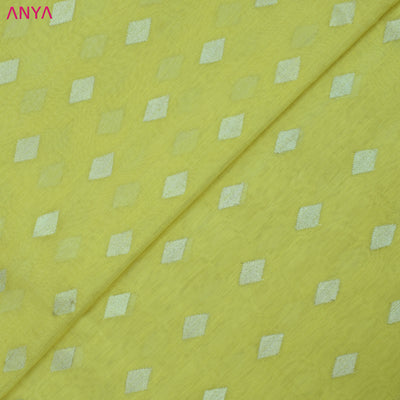 Yellow Tussar Fabric