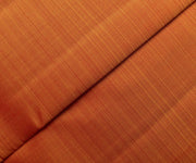 Scarlet Orange Kanchi Silk Fabric