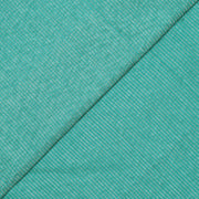Sea Green Silver Zari Striped Kanchi Silk Fabric