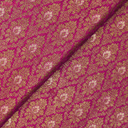 Pink Banarasi Silk Fabric