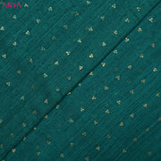 Teal Green Bailu Silk Fabric