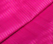 Pink Kanchipuram With Gold Zigzag Zari