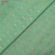 Turquoise Green Bailu Silk Fabric