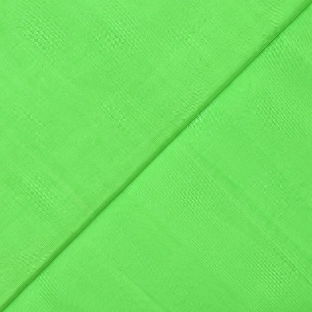Neon Green Kanchi Silk Fabric