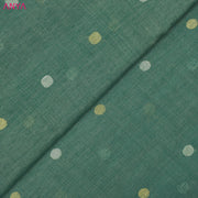 Sea Green Tussar Fabric