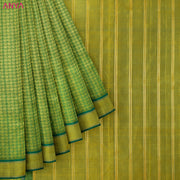 Green Kanchi Silk Saree