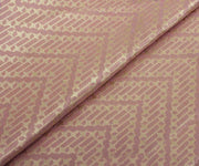 Onion Pink Banarasi Silk Fabric