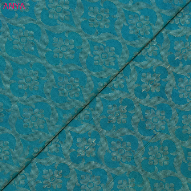 Turquoise Blue Soft Silk Fabric